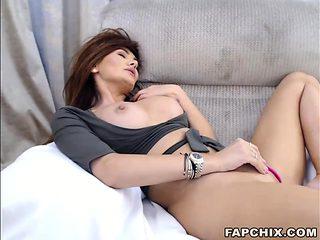Hottest Brunette Dumpster Presents Her Body