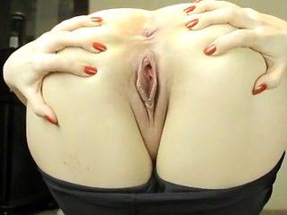 Horny homemade Close-up, Brunette sex video