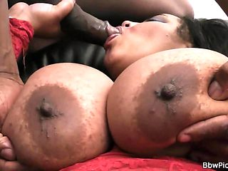 Chubby ex speads legs for big black dick