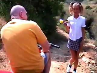 STP5 Rich Old Guy Picks Up And Fucks Nubile Teen !