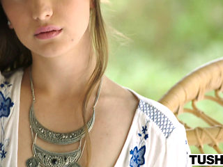 Tushy Hipster Teen Gapes For A Married Man
