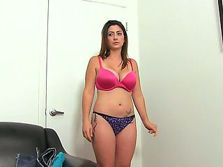 Fat lass Tiffany Cross wants to become a porn star, but she is not very confident whether this ca...