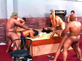 The Gang Fuck Fuck Four Female Masculine Tagged Up