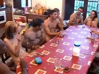 Spanish wild, wicked sex party