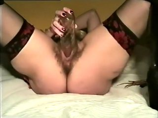 Fabulous homemade Stockings, Solo Girl porn scene