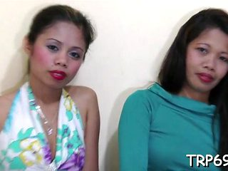 Asian Bitch Deepthroats A Prick Feature
