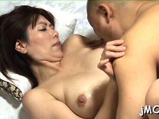 Slender mature screams it out as she gets screwed hard