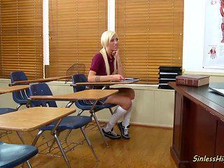 Rough Classroom Sex With Maia Davis