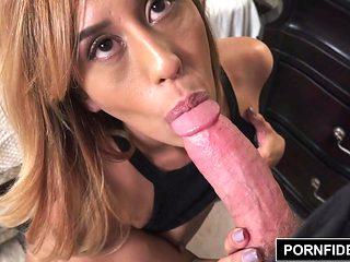 PORNFIDELITY Demi Lopez Panty Creampie
