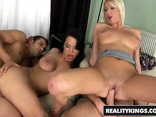 Euro Sex Party foursome