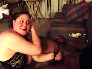 BBW Wife Gets Her First BBC