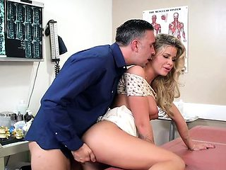Young Babe Jessa Rhodes Gets Demolished By Hung Doctor