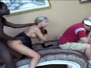 SEXY MILF FUCKS IN FRONT OF SON