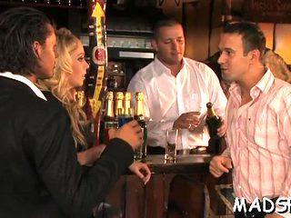 Hot Chicks In Crazy Pulic Scene Video Film 1