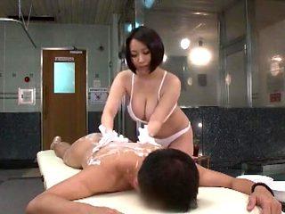 Amazing Japanese slut in Hottest Massage JAV clip
