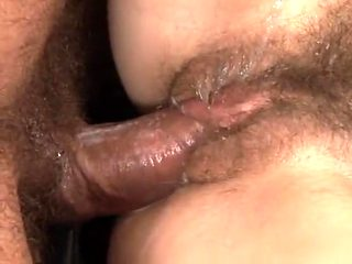 Incredible amateur Hairy, Creampie sex scene