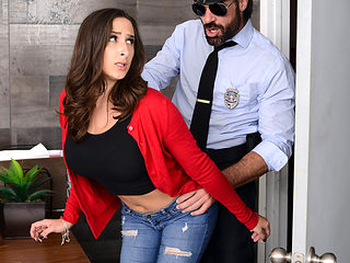 Ashley Adams & Charles Dera in Mall Cop Cock - BRAZZERS