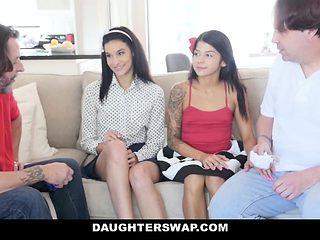 DaugterSwap - Daughters Fucked After Selling Panties
