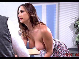 Schoolgirl goes after Teacher dick