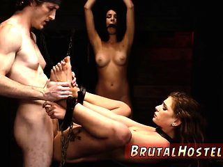 Bdsm strap on male and french feet slave Soon these