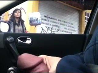 car handjob girls which
