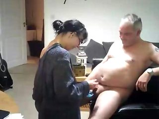 Swedish homemade video of a mature mom fucking brother