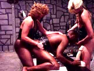2 Mistress fuck slave KOLI