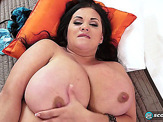 Hot brunette hair Nila Mason recent breasty discovery