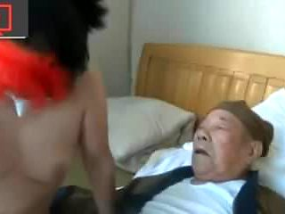 two grandpa, a whore and a pimp-operator
