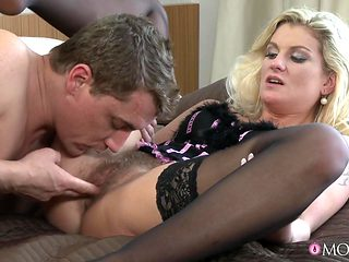 Crazy pornstars Samantha K, Steve in Best Hairy, Stockings porn video