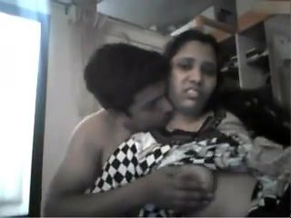 Indian desi horny couple webcam show