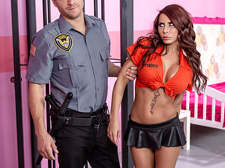 Madison Ivy & Xander Corvus in Glam Jail Nail - BRAZZERS