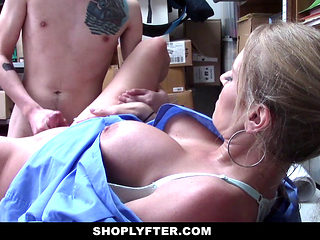 Shoplyfter - Teen Guy Fucks Lp Officer For Freedom
