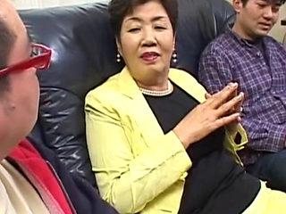 Asian Grandma Nanase Yuu Fucked Hard