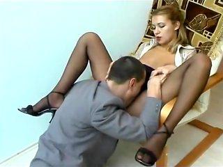 secretary fucked in the ass