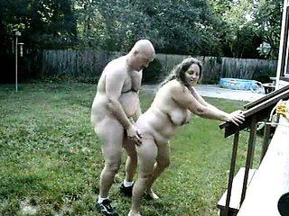 Couple Fucks Within The Garden