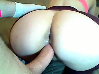 Big Ass Anal Threesome (HD)    Snapchat    NaomiHot2017