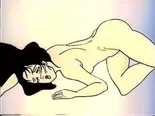 Cartoon beauty with her ass up for hot sex