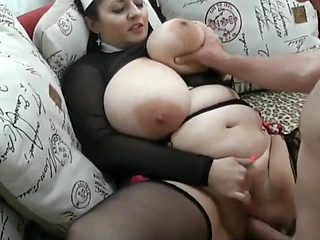 Very Busty BBW MILF Gets Hard Pounded