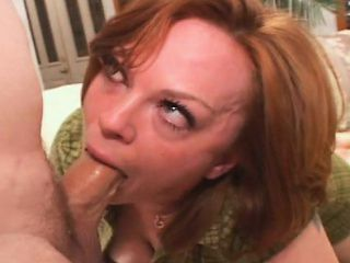 Hot lady Kayce deepthroats a long rod and enjoys a rough anal fucking