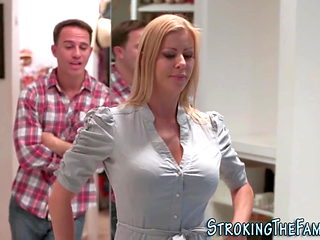 Stepmilf spunked over