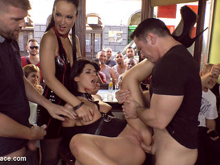 Bella Beretta'S Teen Pussy Gets Publicly Pounded - PublicDisgrace