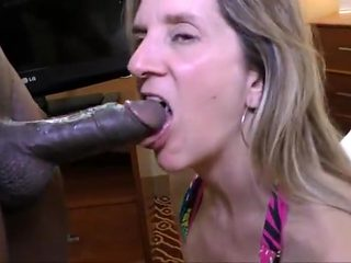 Mature White Wife junior Black Man