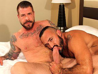 Rocco Steele and Alessio Romero - BarebackThatHole