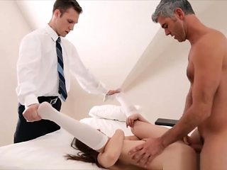 Obedient Cute Virgin Mormon Chick At The Seeding Ritual