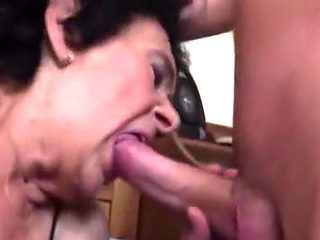 Horny homemade Grannies, Close-up sex clip
