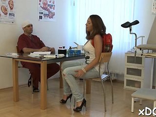 Wicked patient is getting screwed hard by her doctor