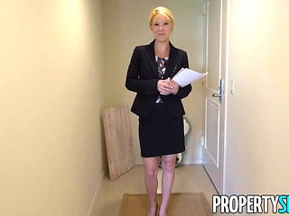 PropertySex Hot Milf Laura Bentley Gets a Creampie