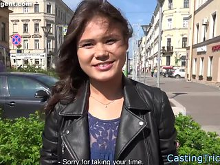 Euro babe banged at casting audition