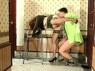 Moms mature doggystyle